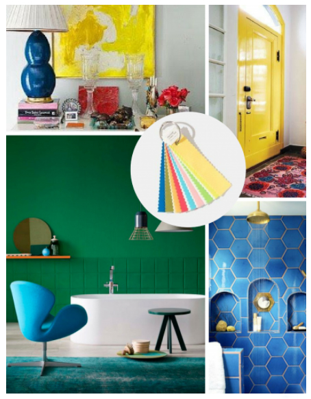 Pantone 2018 Home + Interiors Color Trend 2