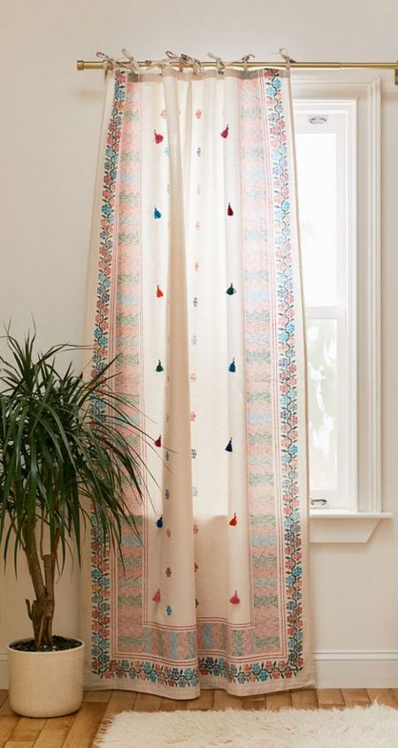 Curtain with Saree